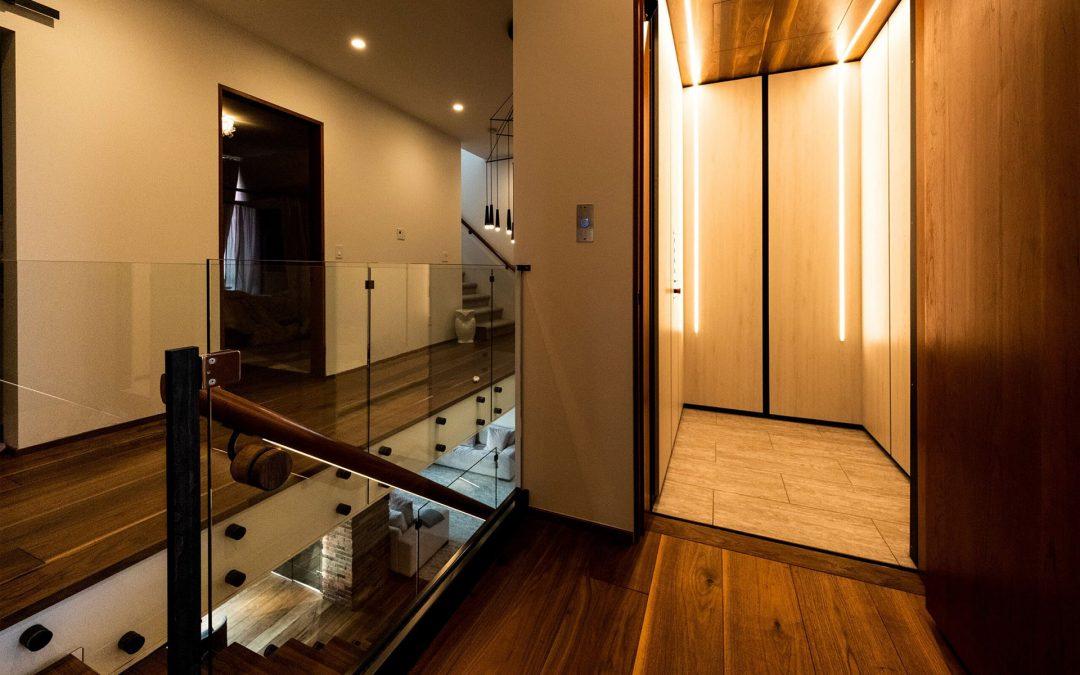 Complete Custom Home Elevators with RAM Crystal Residential Elevators