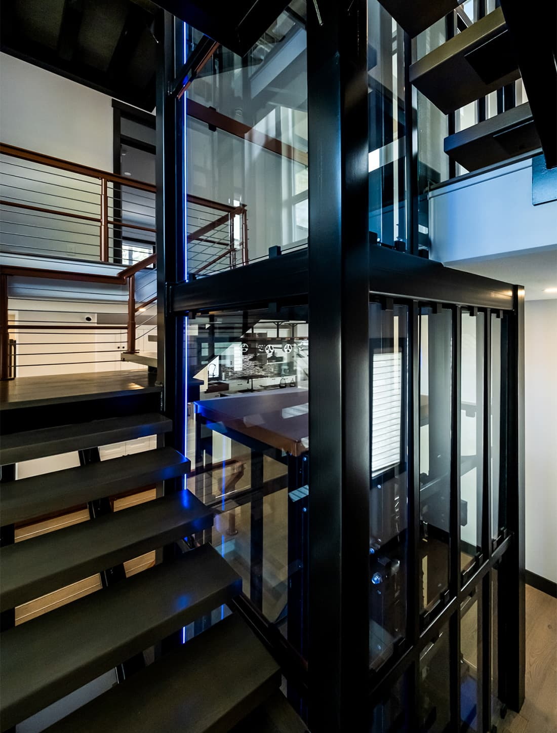 residential and commercial elevators and lifts