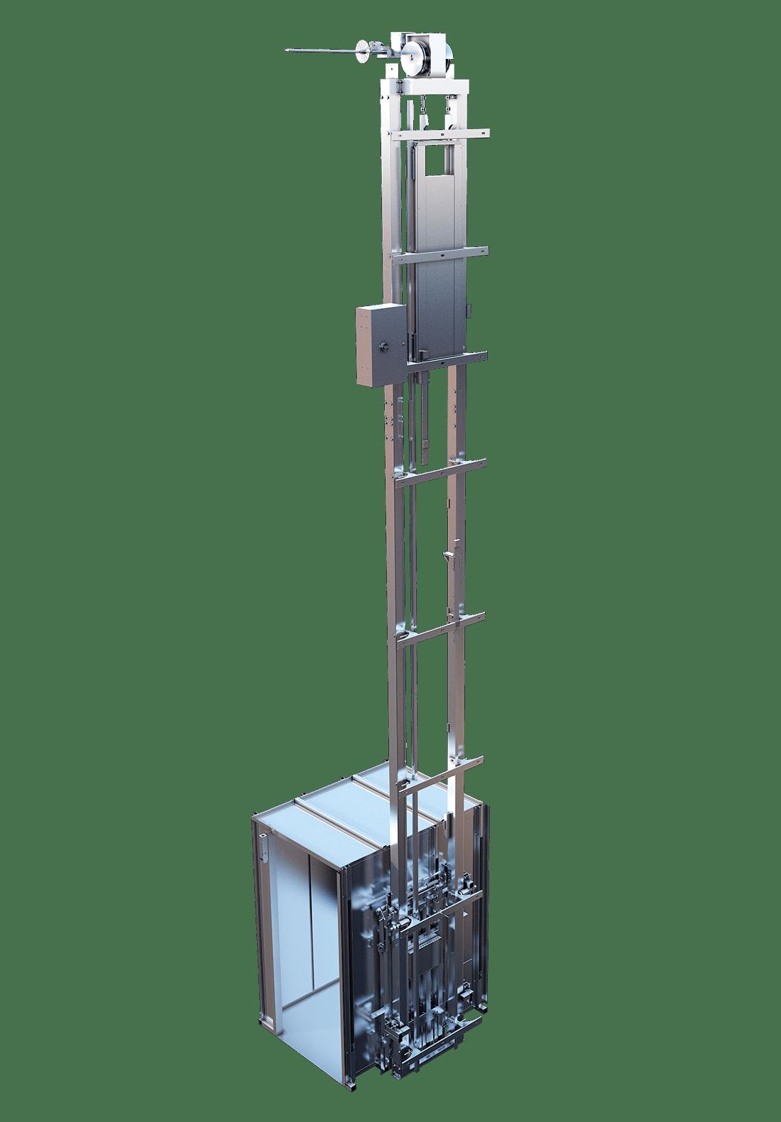 commercial crystal elevator