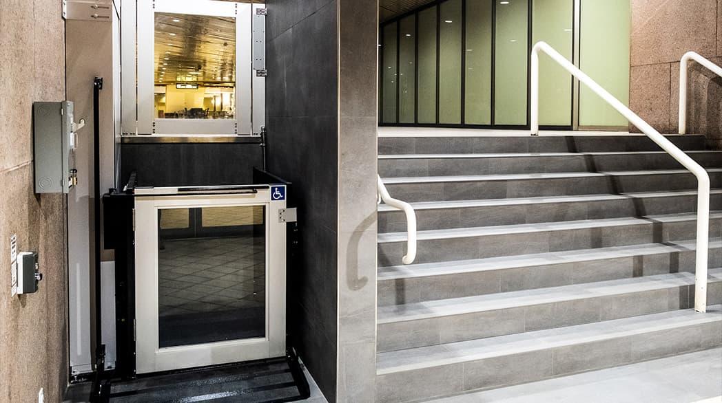 exterior porch lift