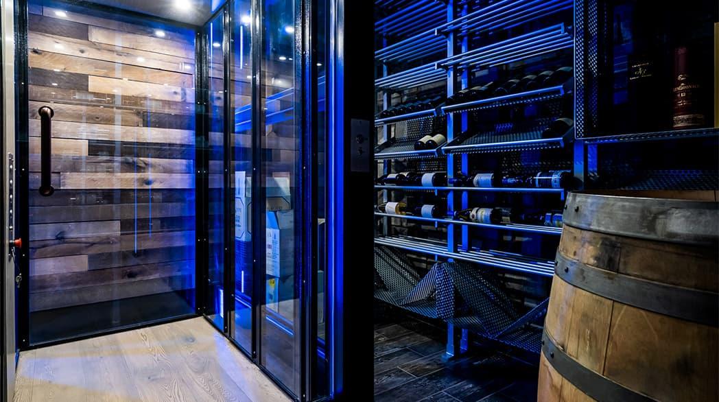 space saving home elevator